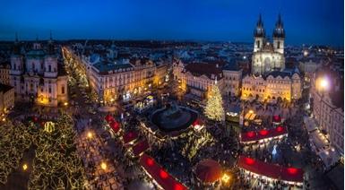 Божиќен пазар во Прага