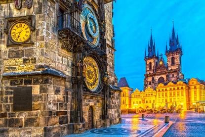 Слика на Прага (Карлови Вари - Дрезден - Виена)-  3НП